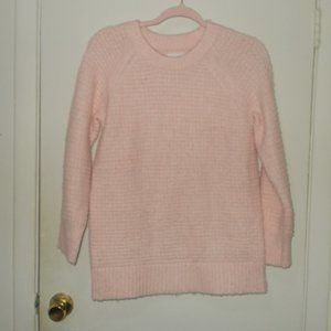 Lou & Grey Sweater Light Pink Size Extra Small